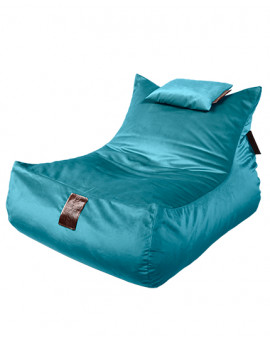 Sedací vak Lounge XXL Luxury Blue | Wegett